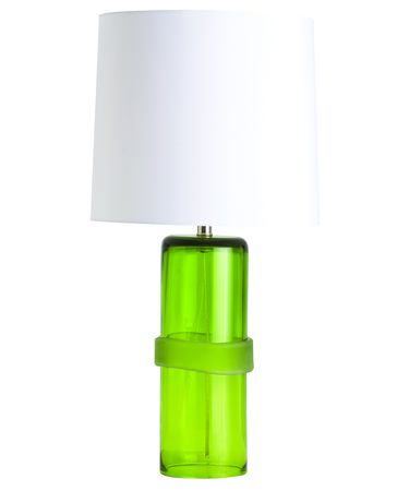 Shown in Green finish and Green glass