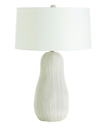 Shown in Matte White with Black Dot Detail finish, Neutral glass and Ivory shade