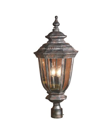 Shown in Antique Marble finish and Clear Bevel glass