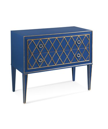 Shown in Blue and Gold finish