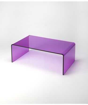 Shown in Purple Acrylic finish