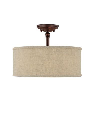 Capital Lighting 3923 Loft 15 Inch Semi Flush Mount