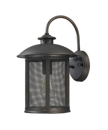 Shown in Old Bronze finish and Bronze Brass Screen shade