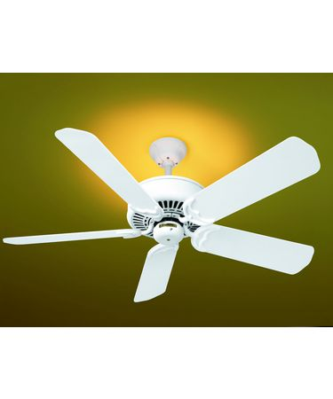 Shown in Architectural White finish with Optional B204 blades