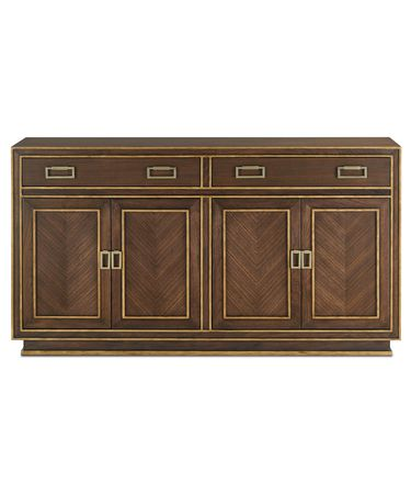 Shown in Dark Walnut -Burnished Gold-Satin Brass finish