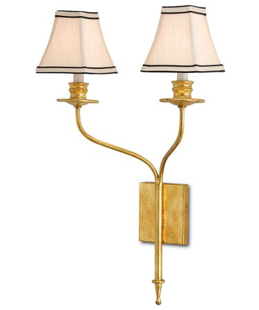 Shown in Antique Gold Leaf finish