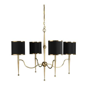 Shown in Brass-Black finish