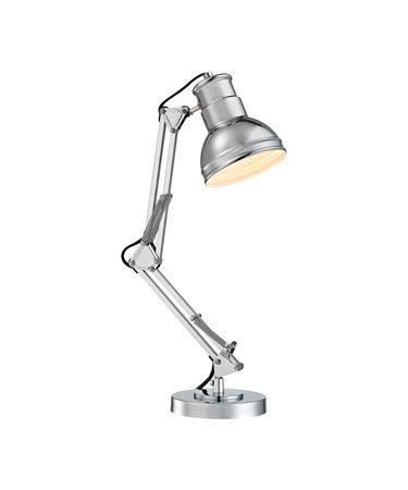 Shown in Chrome finish and Chrome Metal shade