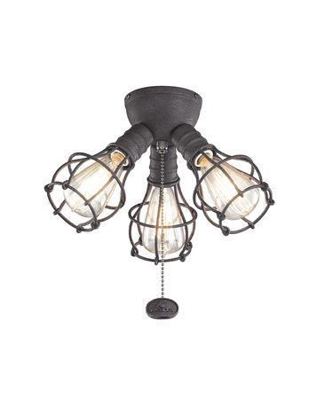 Shown in Distressed Black finish