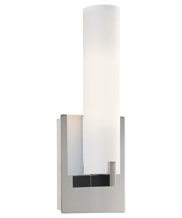 Shown in Chrome finish and Etched Opal glass