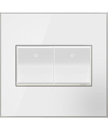 Shown in Mirror White-on-White finish