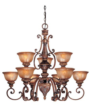 Minka Lavery 1358 Illuminati 39 Inch Wide 9 Light