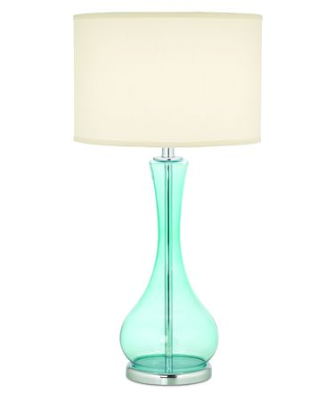 Shown in Teal Blue finish and Drum-White-Linen shade