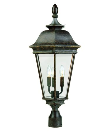 Savoy House KP-5-1104-3 Chatsworth 3 Light Outdoor Post Lamp