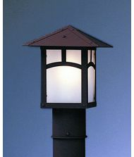 Arroyo Craftsman EP-12 Evergreen 1 Light Outdoor Post Lamp