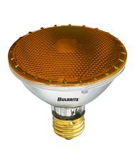 Bulbrite H75PAR30A 75 Watt 120 Volt Amber PAR30 Halogen Short Neck Bulb