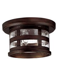 Capital Lighting Mission Hills 3 Light Outdoor Flush Mount
