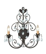 Crystorama 4922 Victoria 15 Inch Wall Sconce