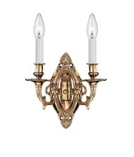 Crystorama 622 Traditional Crystal 9 Inch Wall Sconce