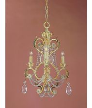 Crystorama 6703 Winslow 16 Inch Mini Chandelier