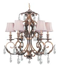 Crystorama 6906 Royal 30 Inch Chandelier