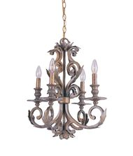 Crystorama 6914 Royal 20 Inch Mini Chandelier