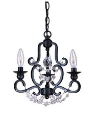 Crystorama 9337 Orleans  13 Inch Mini Chandelier