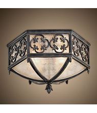 Fine Art Lamps 324882 Costa del Sol 2 Light Outdoor Flush Mount