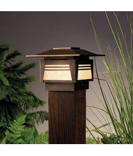 Kichler 15071 Zen Garden 1 Light Outdoor Pier Lamp