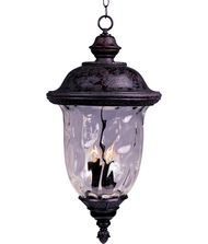 Maxim Lighting 40428 Carriage House VX 3 Light Outdoor Hanging Lantern