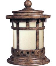 Maxim Lighting 85032 Santa Barbara Energy Smart 1 Light Outdoor Pier Lamp