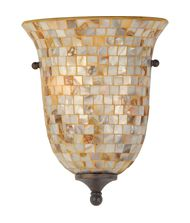 Quoizel MY8801 Monterey Mosaic 5 Inch Wall Sconce
