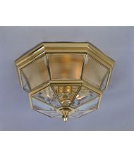 Quoizel Newbury 3 Light Outdoor Flush Mount