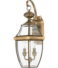 Quoizel NY8317 Newbury 2 Light Outdoor Wall Light