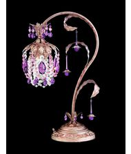 Schonbek 1249 Rondelle 19 Inch Desk Lamp
