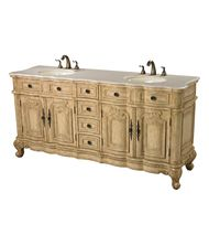 Sterling Industries 88-9011 Antique Cream Double Vanity Unit